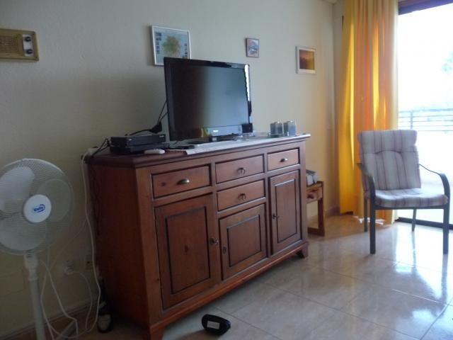 The lounge with TV and DVD player - Iguazu free fast wi fi, Playa del Ingles, Gran Canaria